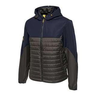 hummel North Hybrid Jacke Trainingsjacke Herren blau