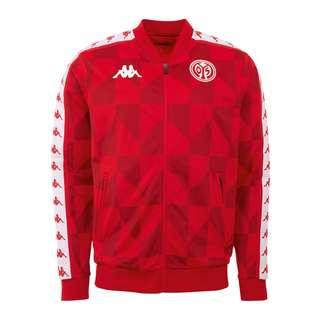 KAPPA 1. FSV Mainz 05 Jacke Trainingsjacke Herren rot