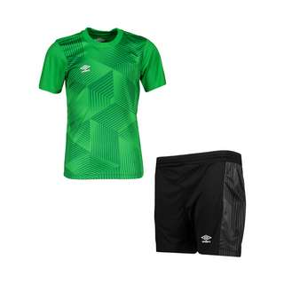 UMBRO Maxium Kit Set Kids Fußballtrikot Kinder gruenschwarz