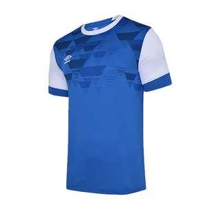 UMBRO Vier Jersey Trikot kurzarm Kids Fußballtrikot Kinder blauweiss