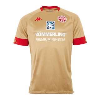 KAPPA 1. FSV Mainz 05 Trikot 3rd 2020/2021 Fußballtrikot Herren gold