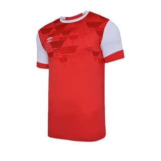 UMBRO Vier Jersey Trikot kurzarm Fußballtrikot Herren rotweiss