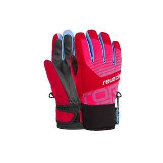 Reusch Torbenius R-TEX® XT Junior Skihandschuhe Kinder tango red/pink glo