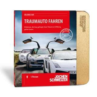 Jochen Schweizer Traumauto fahren Geschenkbox mehrfarbig