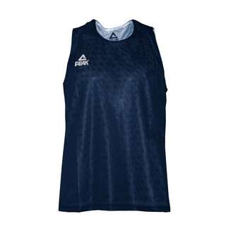 Peak IOWA Basketballtrikot Dunkelblau Weiß