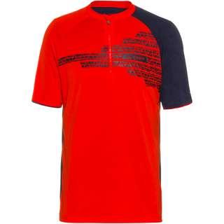 VAUDE Men's Altissimo Shirt Funktionsshirt Herren mars red