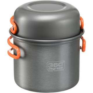 360° degrees 360° Furno Stove + Pot Set Campingkocher grey