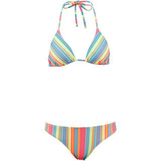 Chiemsee Bikini Set Damen yellow-pink aop