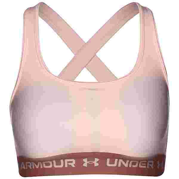Under Armour Crossback Mid BH Damen pink