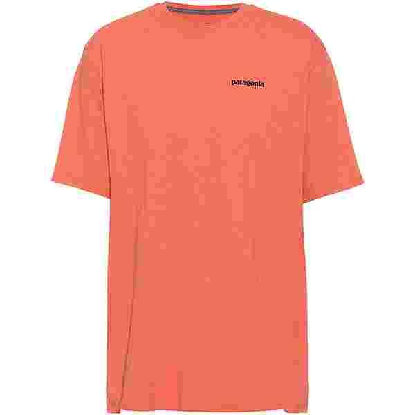 Patagonia P-6 Logo Responsibili T-Shirt Herren coho coral