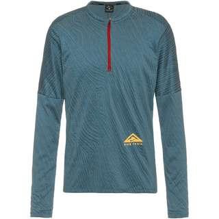 Nike Dry Fit Elmnt Funktionsshirt Herren dark teal green-hasta