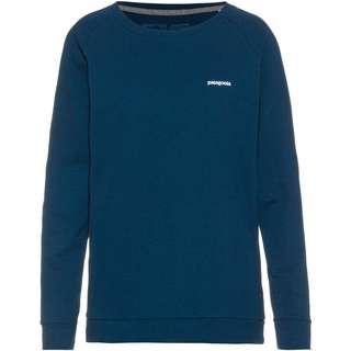 Patagonia Pastel P-6 Logo Responsibili Langarmshirt Damen crater blue