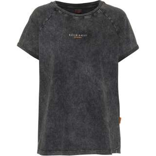 Kleinigkeit Görls Dyemond T-Shirt Damen asphalt grey dyed