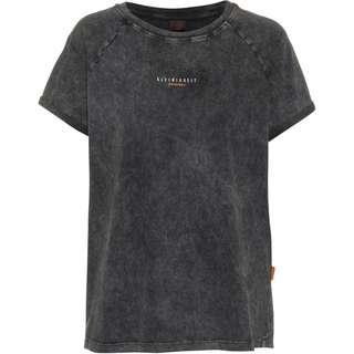 Kleinigkeit Görls Dyemond T-Shirt Damen asphalt grey dyed