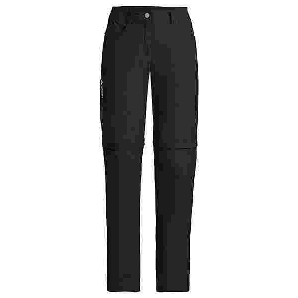 VAUDE Women's Farley ZO Pants V Trekkinghose Damen black