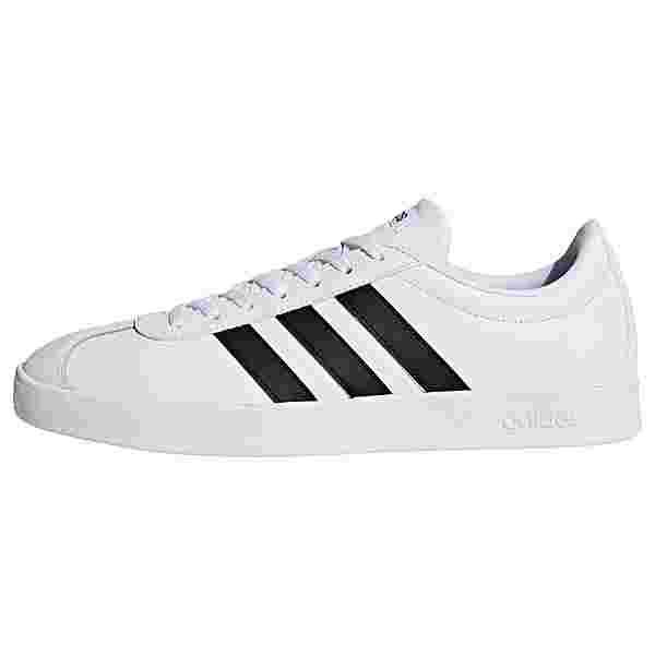 adidas VL Court 2.0 Schuh Sneaker Herren Cloud White / Core Black / Core Black