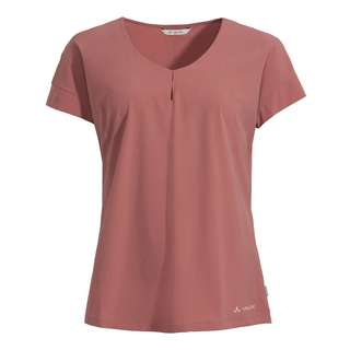 VAUDE Women's Skomer V-Neck T-Shirt T-Shirt Damen dusty rose