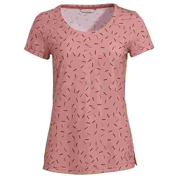 VAUDE Women's Skomer AOP T-Shirt T-Shirt Damen soft rose