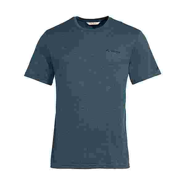 VAUDE Men's Mineo Hemp T-Shirt T-Shirt Herren steelblue
