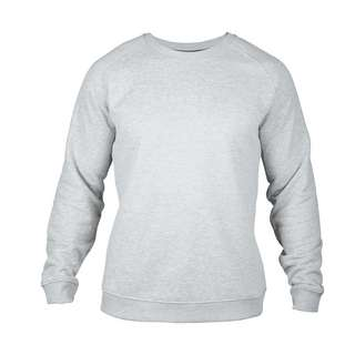 MOROTAI Logo Basic Sweatshirt Sweatshirt Herren Hellgrau