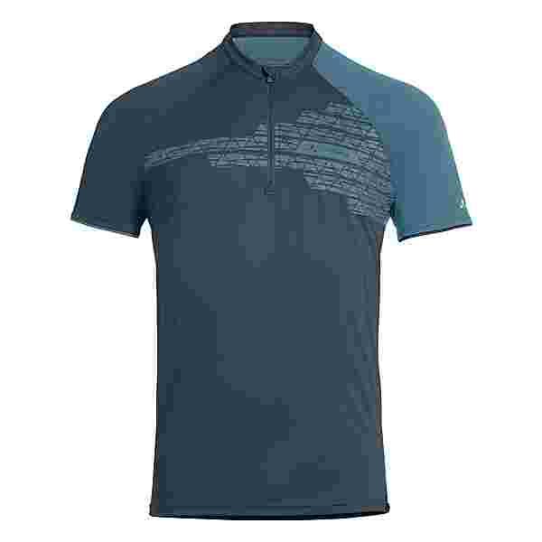 VAUDE Men's Altissimo Shirt Fahrradtrikot Herren steelblue