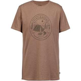 FJÄLLRÄVEN Lägerplats T-Shirt Herren dark sand