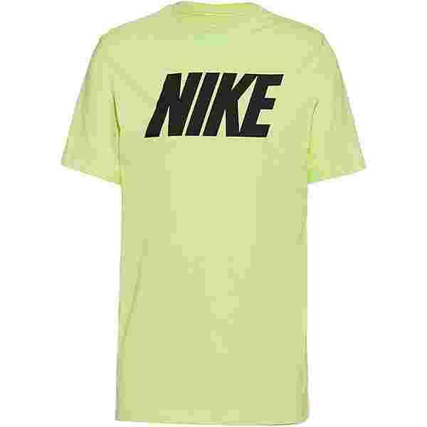 Nike NSW T-Shirt Herren lt liquid lime-black