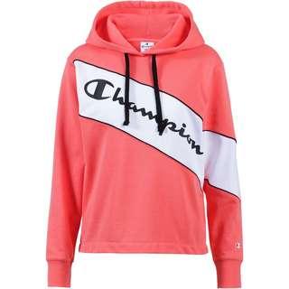 CHAMPION Hoodie Damen orange-white