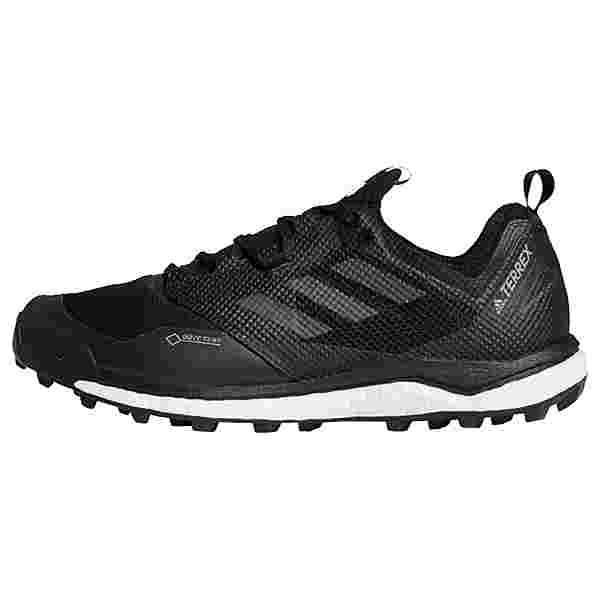 adidas GTX TERREX Agravic XT GTX Schuh Trailrunning Schuhe Herren Core Black / Hi-Res Red / Grey Three