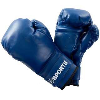 ScSPORTS Boxhandschuhe  Kunststoff blau Boxhandschuhe Blau