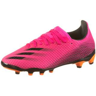 adidas X GHOSTED.3 MG J Fußballschuhe Kinder shock pink-core black-screaming orange