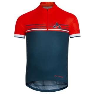 VAUDE Men's Mitus Tricot Trikot Herren baltic/mars red
