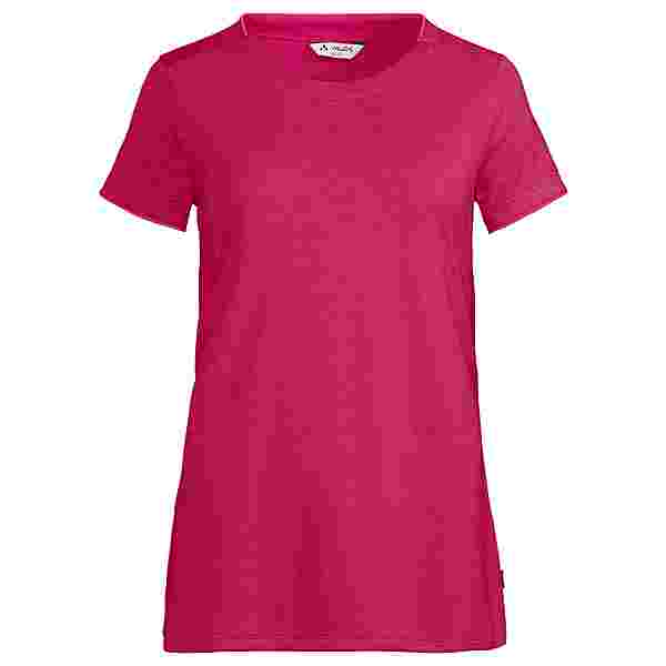 VAUDE Women's Essential T-Shirt T-Shirt Damen crimson red