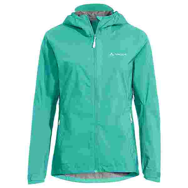 VAUDE Women's Moab Rain Jacket II Outdoorjacke Damen peacock