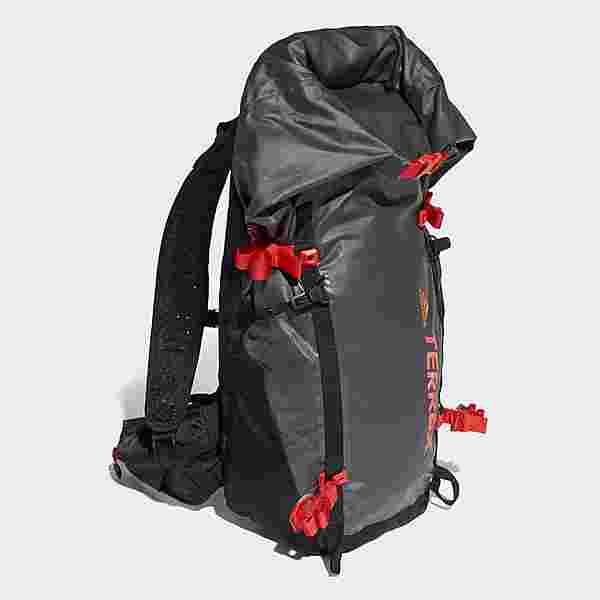 adidas Rucksack Terrex Solo Lightweight Rucksack Daypack Herren Carbon / Black / Hi-Res Red