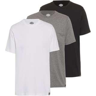 Dickies T-Shirt Herren black-greymelange-white