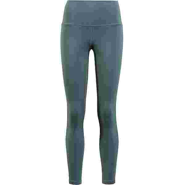Nike YOGA NOVELTY Tights Damen hasta-dark teal green-dark teal green