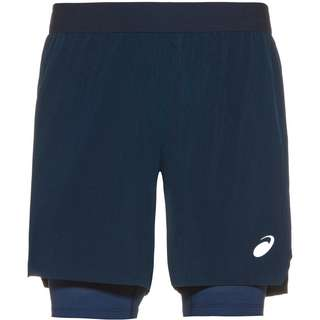 ASICS Road 2 in 1 Laufshorts Herren french blue