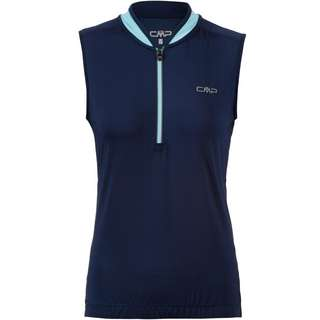 CMP WOMAN BIKE T-SHIRT Trikot Damen blue