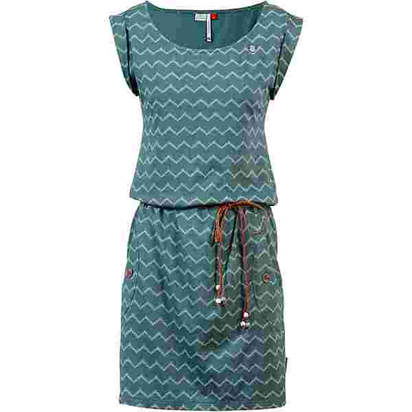 Ragwear Tag Chevron Jerseykleid Damen dark green