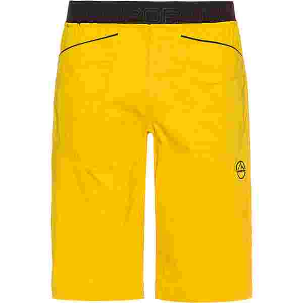 La Sportiva Flatanger Kletterhose Herren yellow-black