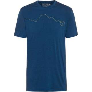 ORTOVOX Merino 120 TEC MOUNTAIN Funktionsshirt Herren blue lake