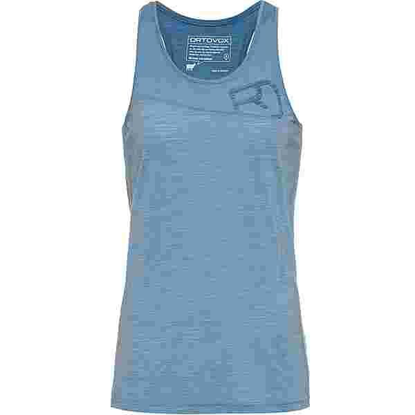ORTOVOX Merino 150 COOL LOGO Funktionsshirt Damen light blue