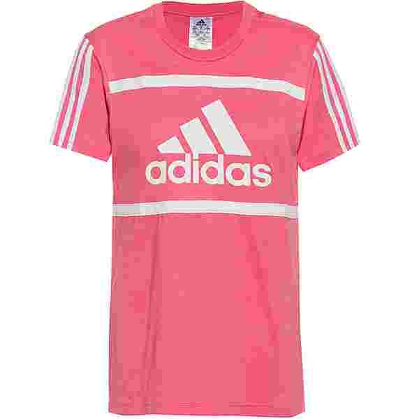 adidas SPORT ESSENTIALS T-Shirt Damen hazy rose-white