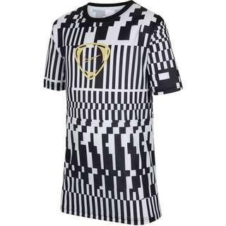 Nike Academy Funktionsshirt Kinder white-black-saturn gold