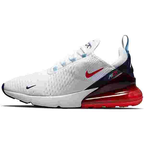 Nike Air Max 270 Sneaker Herren white-chile red-midnight navy