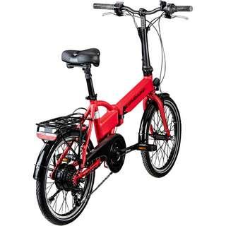Zündapp Z101 20 Zoll E-Bike Klapprad E-Bike gambia rot