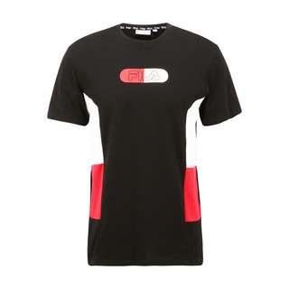 FILA MEN JALEN blocked tee T-Shirt Herren black-bright white-true red