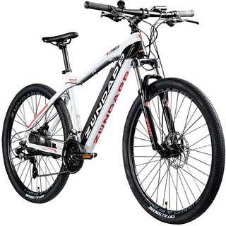 Zündapp Z801 650B E-Bike E Mountainbike MTB Hardtail schwarz/weiß