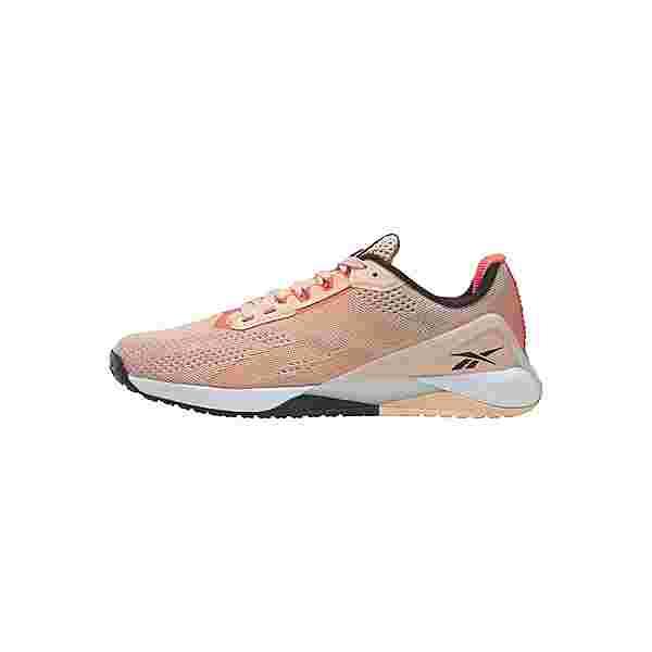 Reebok Nano X1 Shoes Fitnessschuhe Damen Aura Orange / Twisted Coral / Black